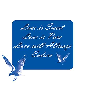 LOVE is SWEET. Stickers, Gifts, and Clothing. by sunnypicsoz