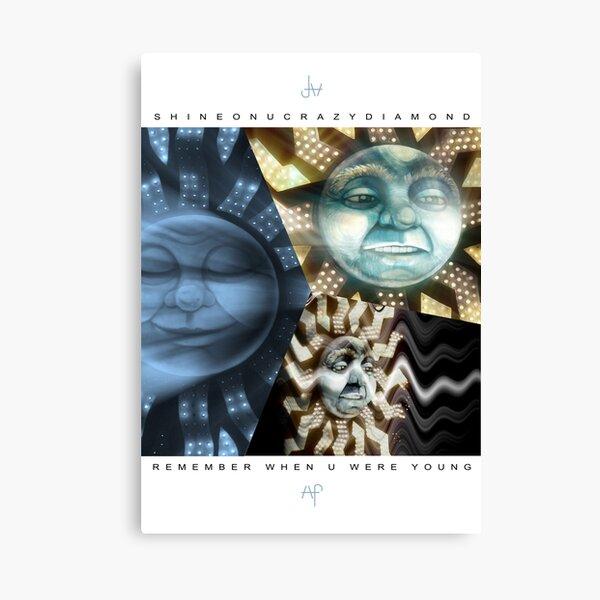 15 Shine on you Crazy Diamond pt1 - Remember Canvas Print