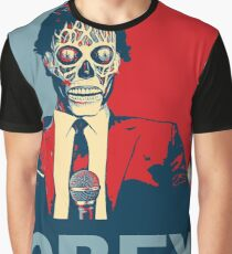 They Live - Obey Graphic T-Shirt
