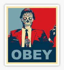 They Live - Obey Sticker
