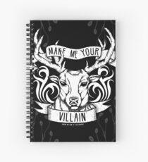 Cuaderno de espiral 'Hazme tu villano' | Sombra y hueso