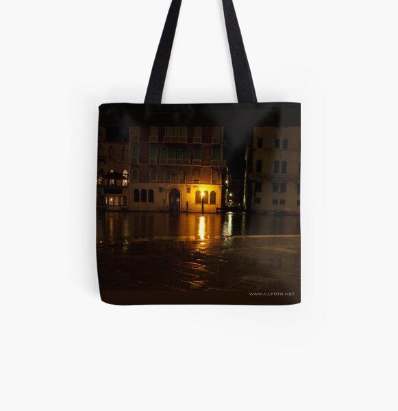 Near the Rialto Bridge, Venice, Italy All Over Print Tote Bag