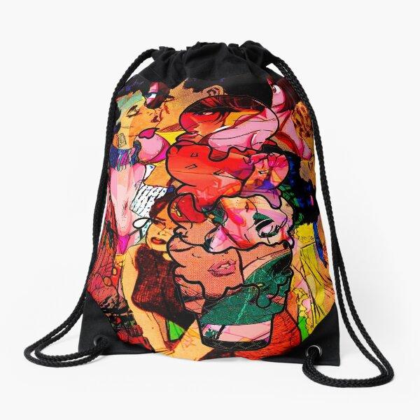 Three Scoops of Rocky Road Drawstring Bag