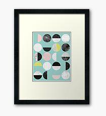 Half Circles Framed Print