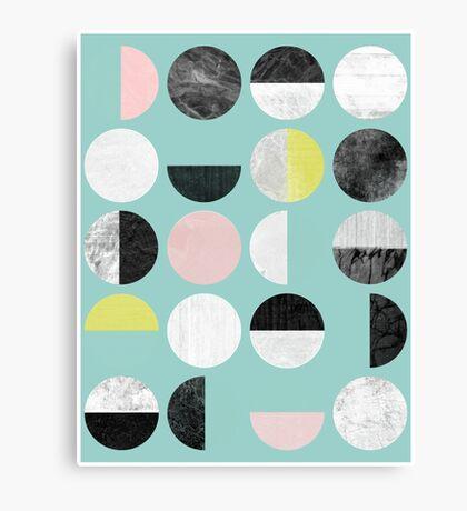 Half Circles Canvas Print