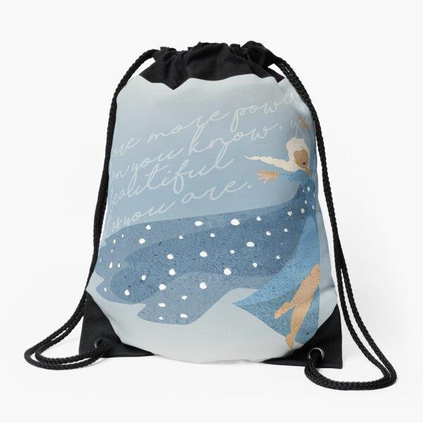 Frosty Drawstring Bag