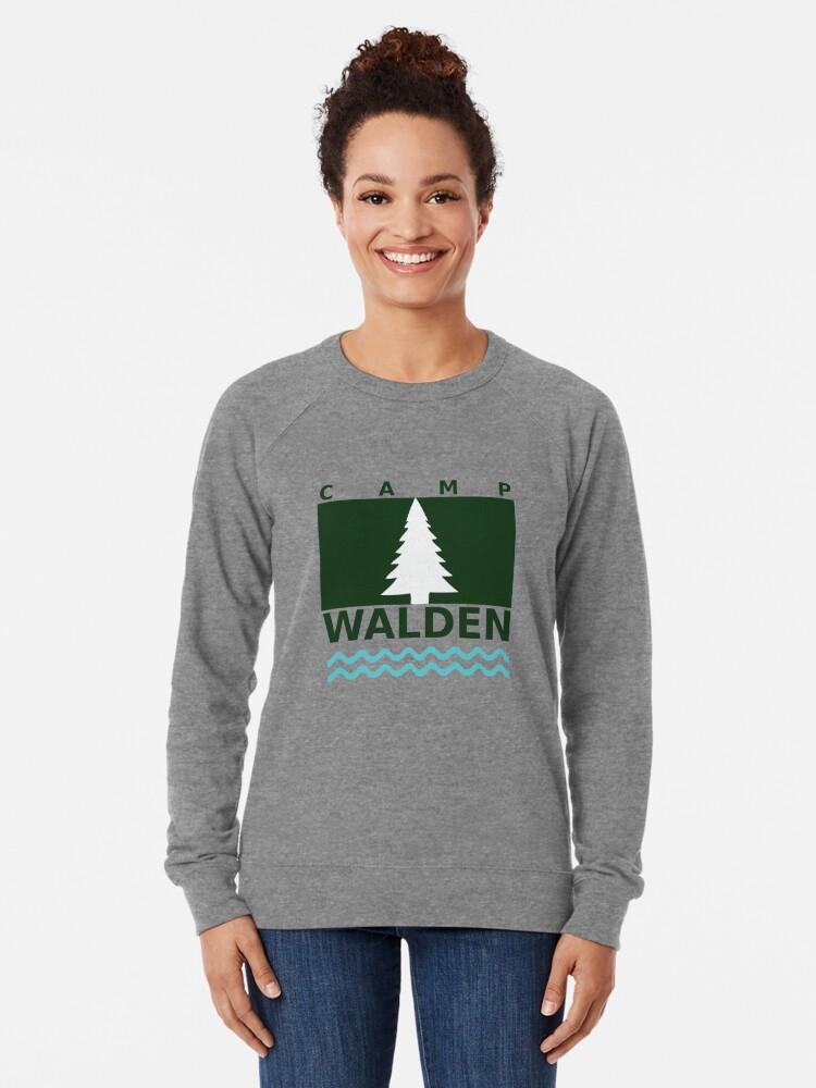 Vista alternativa de Sudadera ligera Camp Walden
