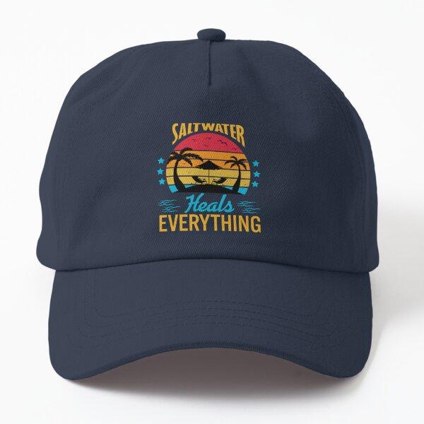 Saltwater Heals Everything Dad Hat
