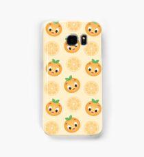 Little Orange Bird Pattern Samsung Galaxy Case/Skin