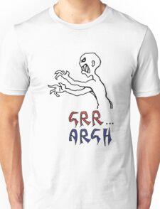 grr...argh with colour Unisex T-Shirt