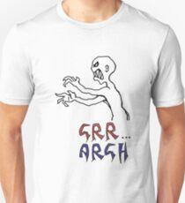 Camiseta ajustada grr ... argh con color