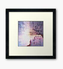 Abstract Lake Framed Print
