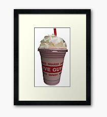 Five Guys Milkshake Framed Print