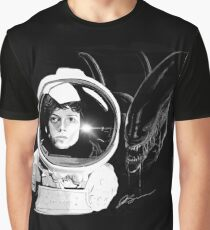 Ripley and the Beast Graphic T-Shirt
