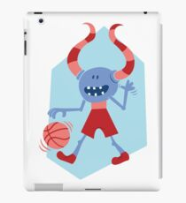 Funny Monster with Ball iPad Case/Skin