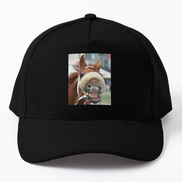 Horse laughing Baseball Cap