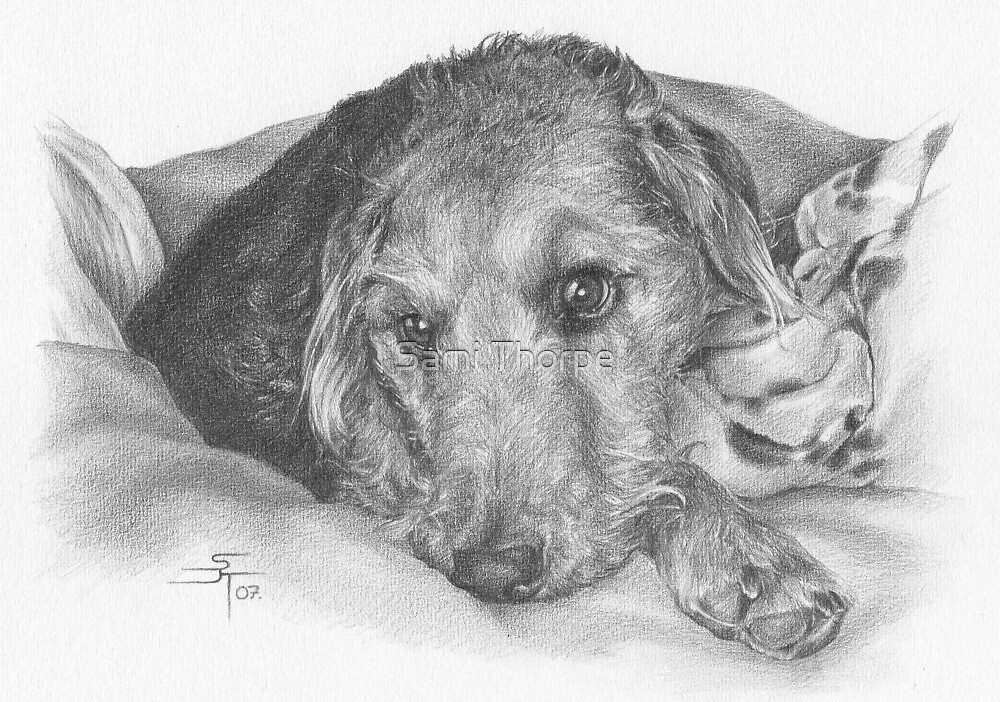 A4 Portrait Commission (Kara) by Sami Thorpe