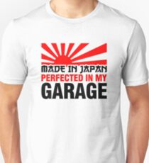 Made In Japan PERFECTED IN MY GARAGE (3) Slim Fit T-Shirt