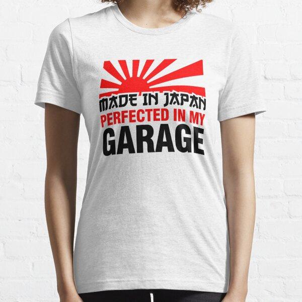 Made in Japan PERFEKT IN MEINER GARAGE (3) Essential T-Shirt