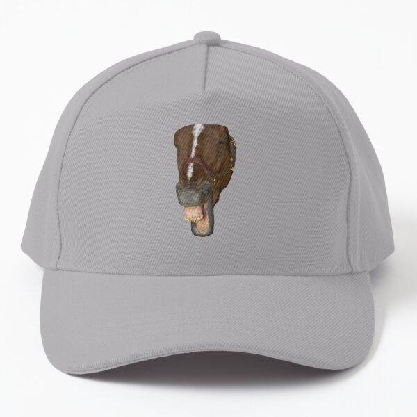 Laughing horse Baseball Cap
