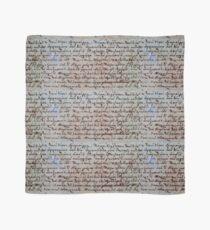 griechische antike Schrift Tuch