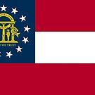 Flag of Georgia  by abbeyz71