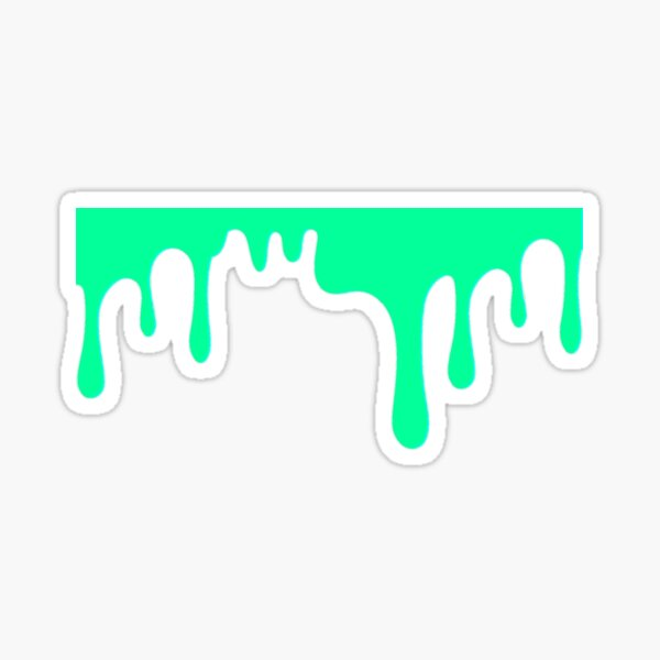 Green Slime Sticker