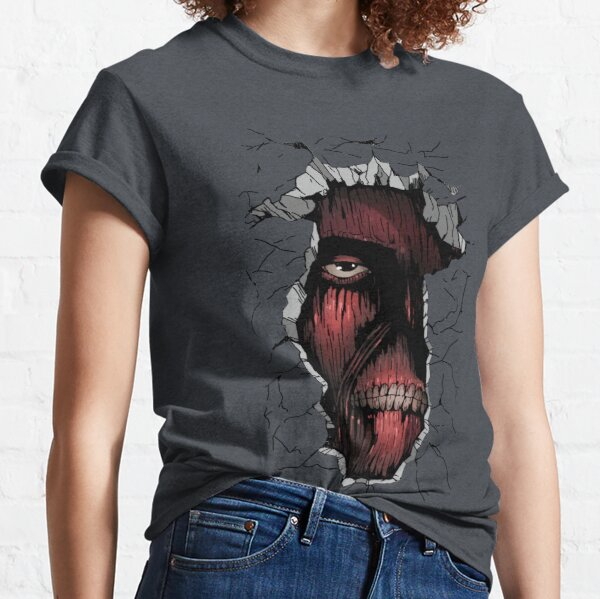 Attack on Titan: The Titan inside the Wall Classic T-Shirt