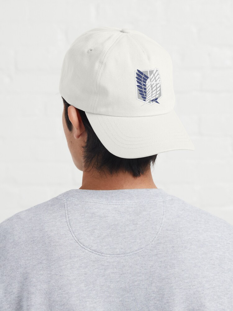 Alternate view of Attack on Titan: Wings Of Freedom Logo Cap