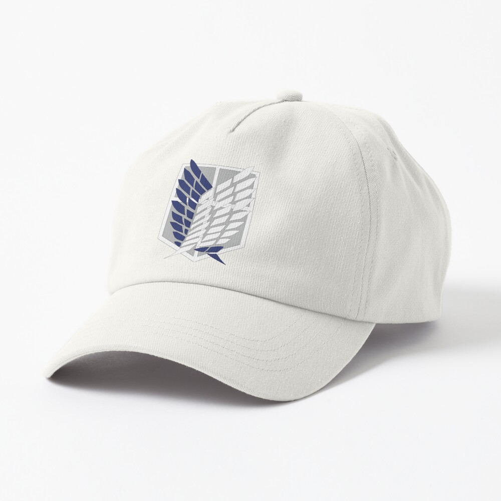 Attack on Titan: Wings Of Freedom Logo Cap