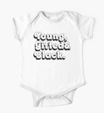 Young, Gifted & Black. One Piece - Short Sleeve