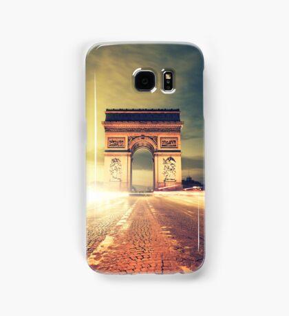 paris skyline Samsung Galaxy Case/Skin