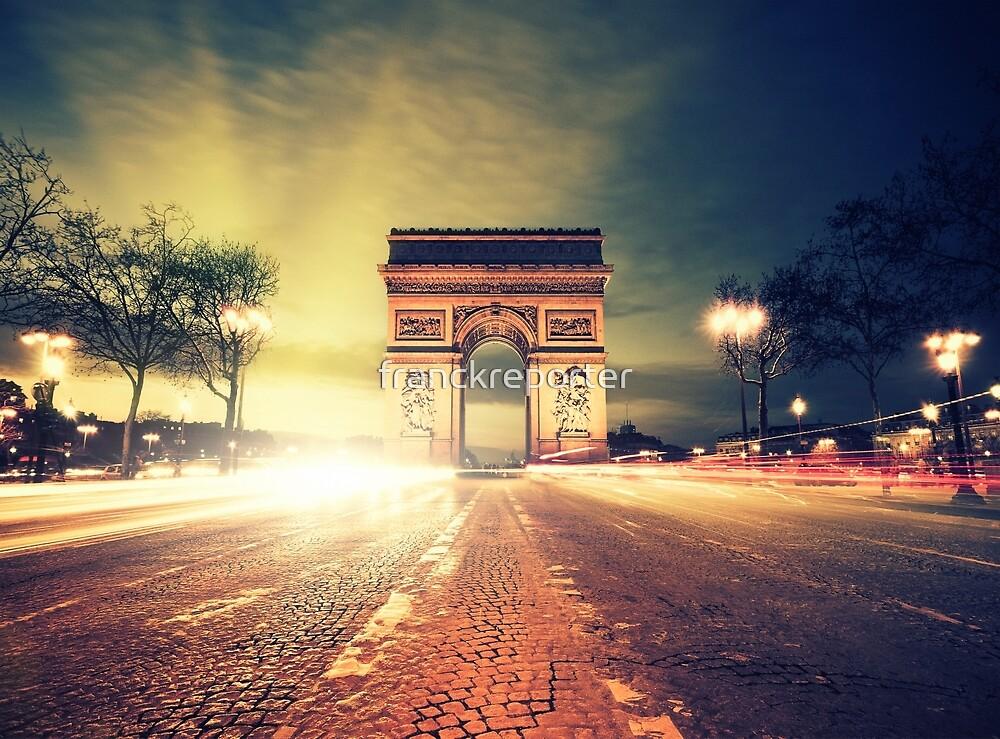 paris skyline by franckreporter
