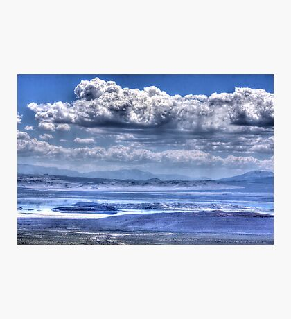 Clouds Over Mono Lake Photographic Print