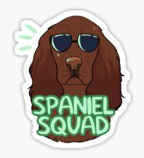 SPANIEL SQUAD (liver) Sticker