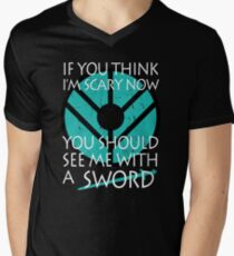 If you think I'm scary now, you should see me with a SWORD T-Shirt