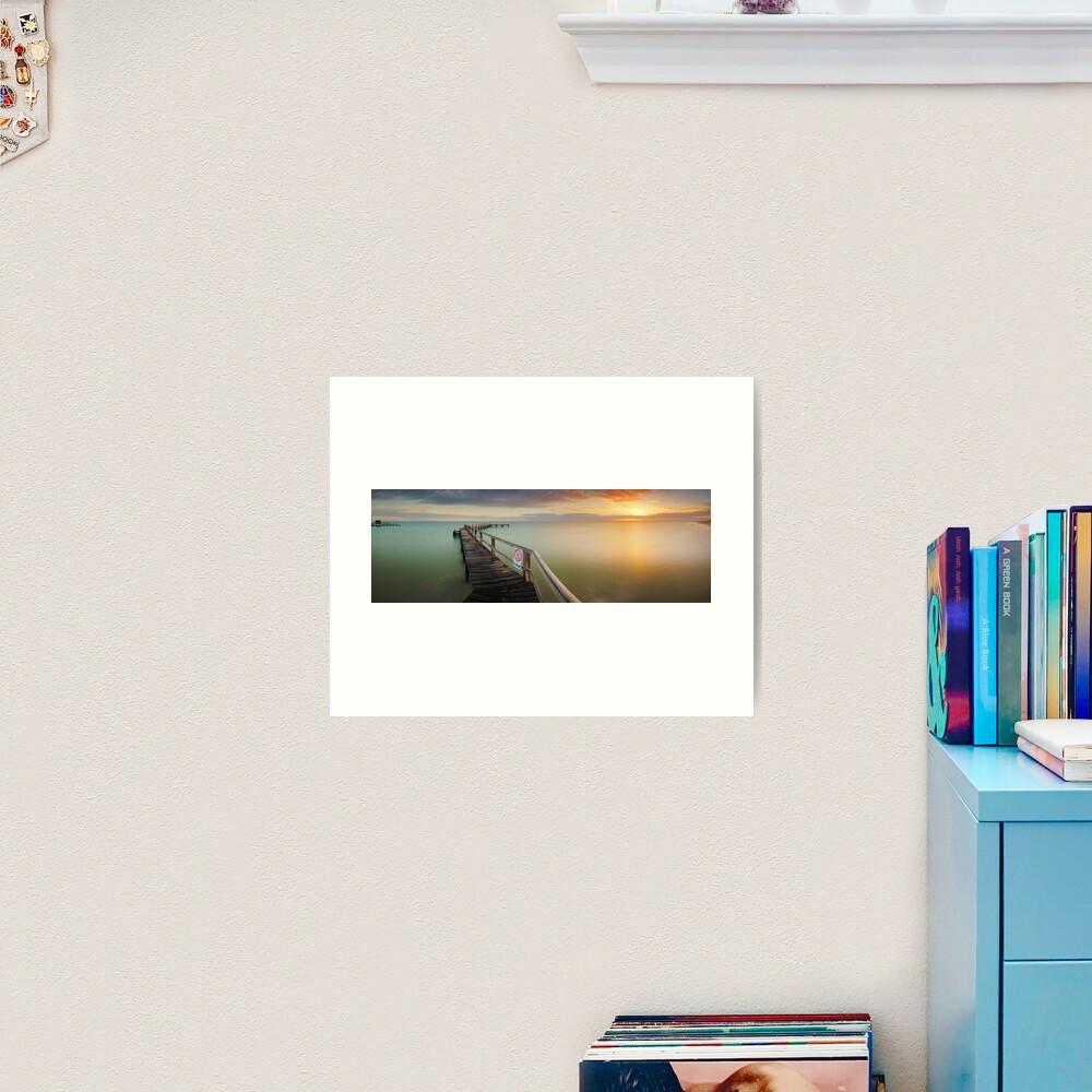 No Diving, Mornington Peninsula, Victoria, Australia Art Print