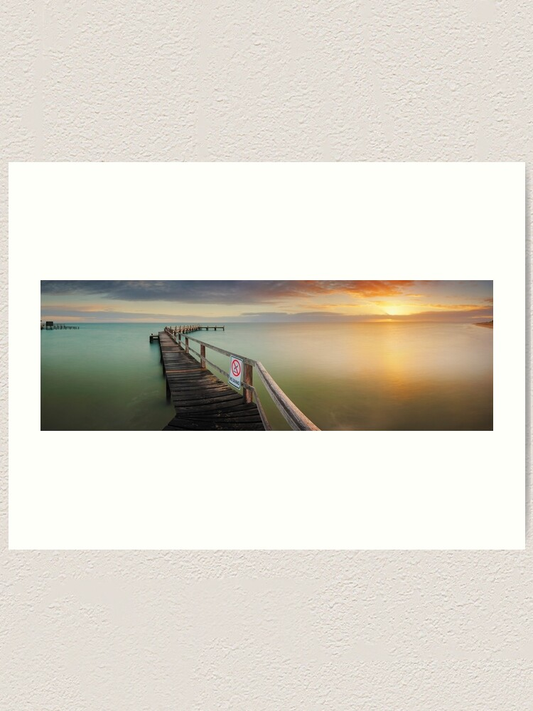 Alternate view of No Diving, Mornington Peninsula, Victoria, Australia Art Print