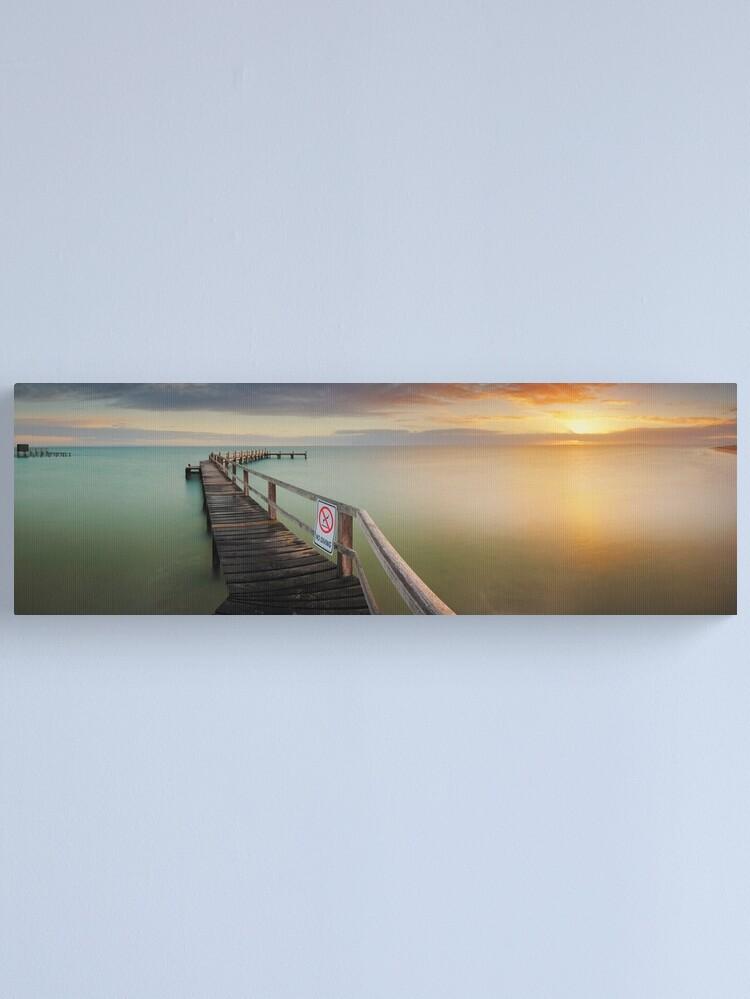 Alternate view of No Diving, Mornington Peninsula, Victoria, Australia Canvas Print