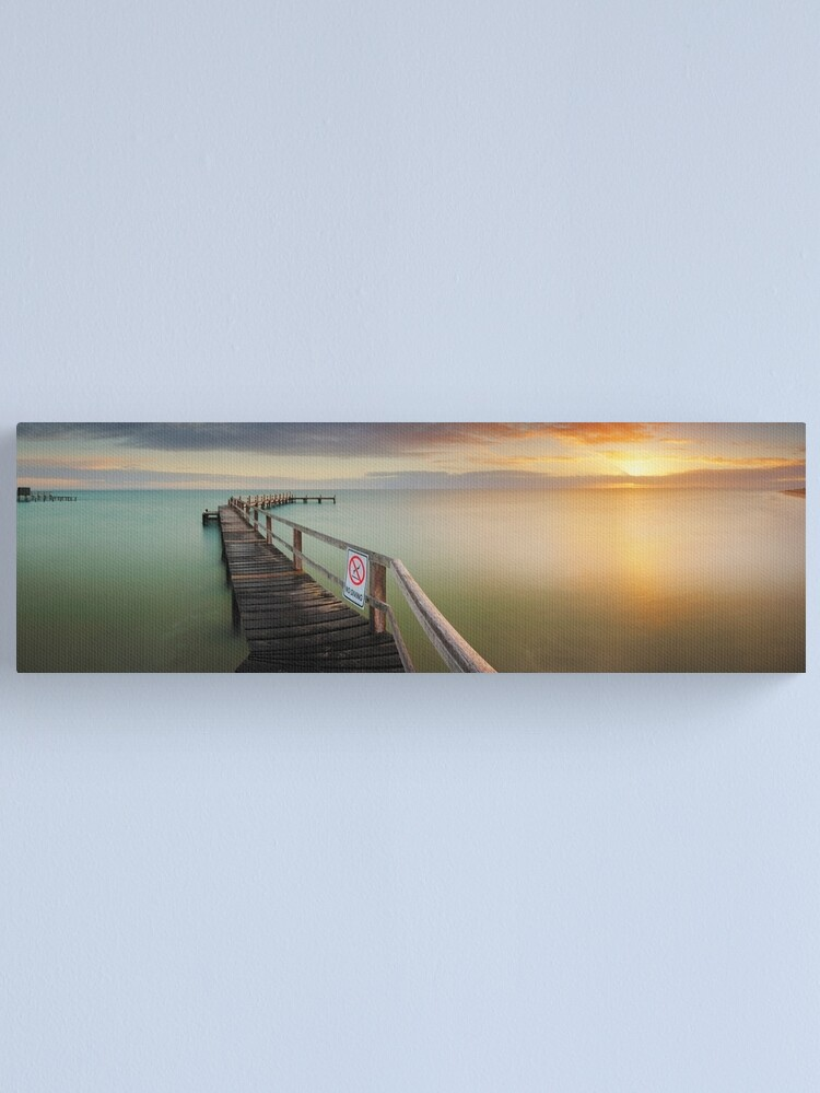 Alternate view of No Diving, Mornington Peninsula, Victoria, Australia Canvas Print