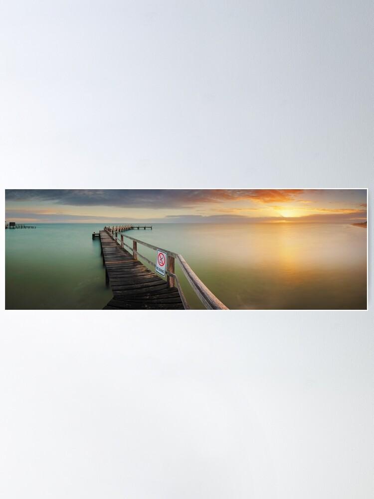 Alternate view of No Diving, Mornington Peninsula, Victoria, Australia Poster