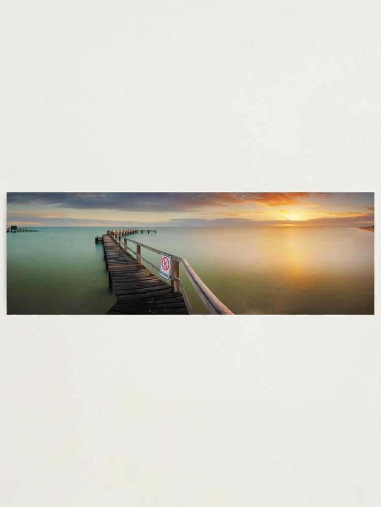 Alternate view of No Diving, Mornington Peninsula, Victoria, Australia Photographic Print