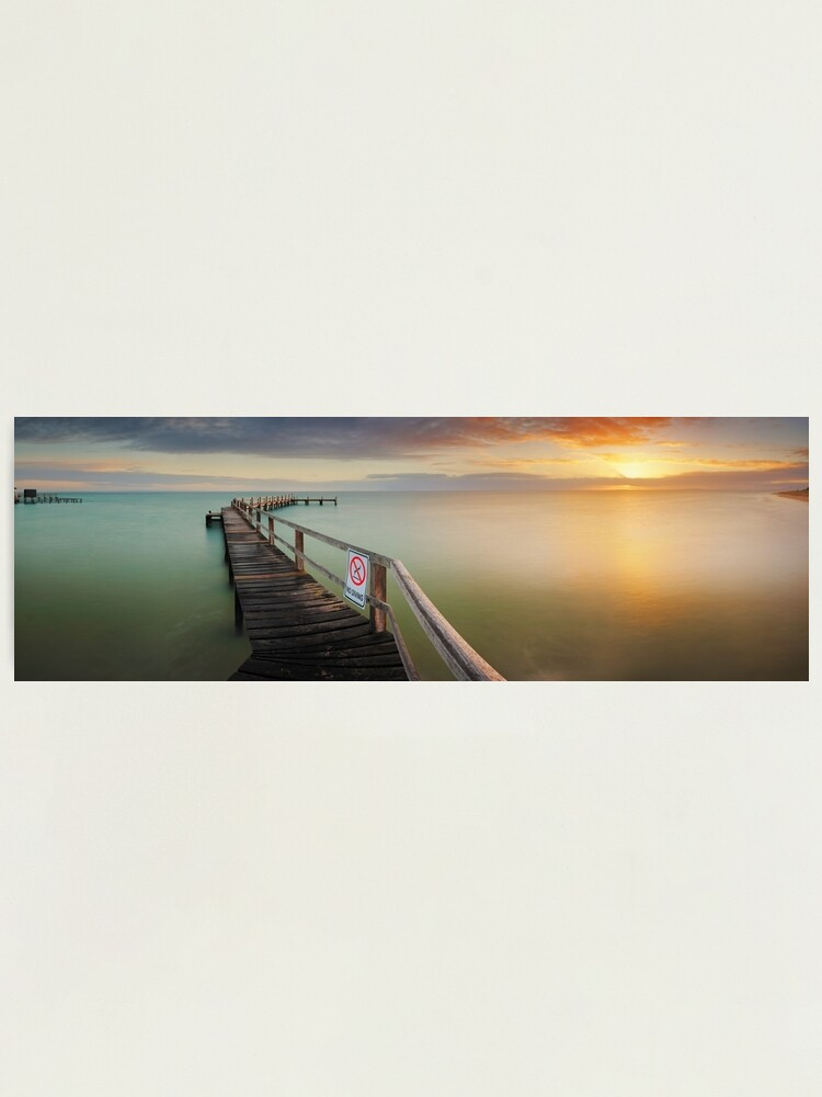 Alternate view of No Diving, Mornington Peninsula, Victoria, Australia Photographic Print