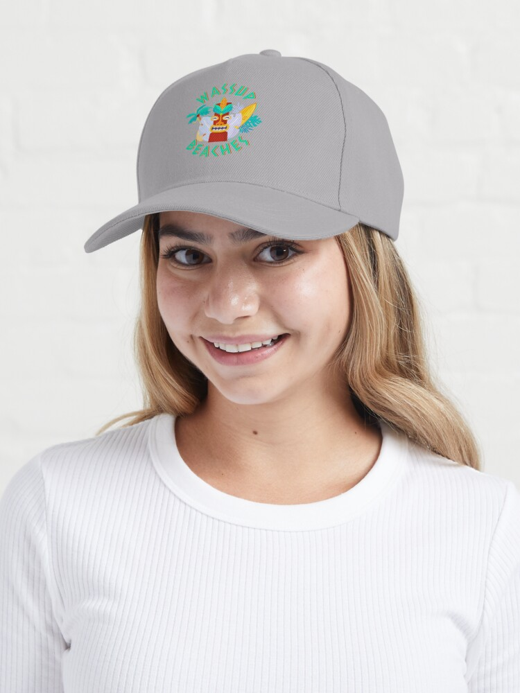 Alternate view of What's Up Beaches Cap