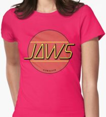 JAWS Band Logo Womens Fitted T-Shirt