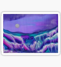 Melting Sunset Sands Sticker