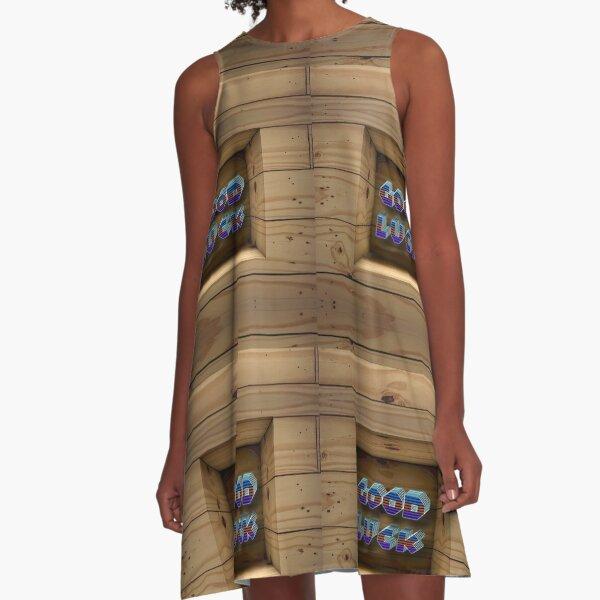 Good Luck  A-Line Dress