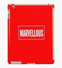 Isn't it Marvellous? iPad Case/Skin