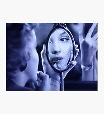 Mirror Work Photographic Print