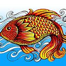 Fish Doodle #3 by Ann-Marie Cheung